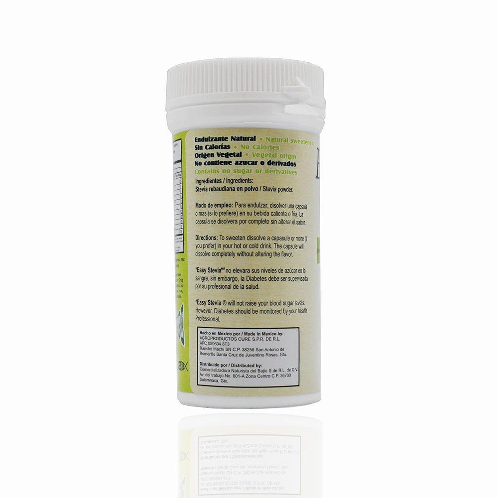 Stevia-cápsula-orgánica
